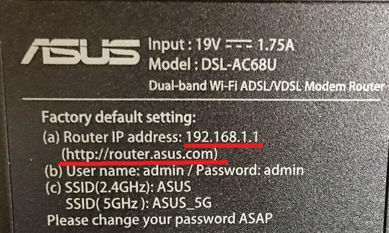router asus com 192.168.1.1
