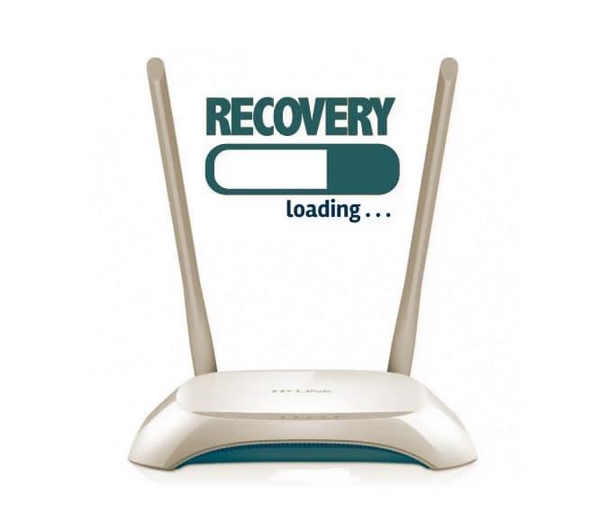 Как восстановить роутер TP-Link